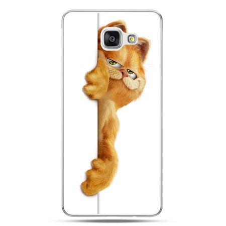 Galaxy A7 (2016) A710, etui na telefon Kot Garfield