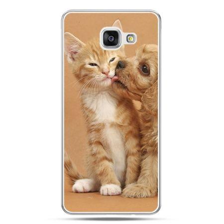 Galaxy A7 (2016) A710, etui na telefon jak pies i kot