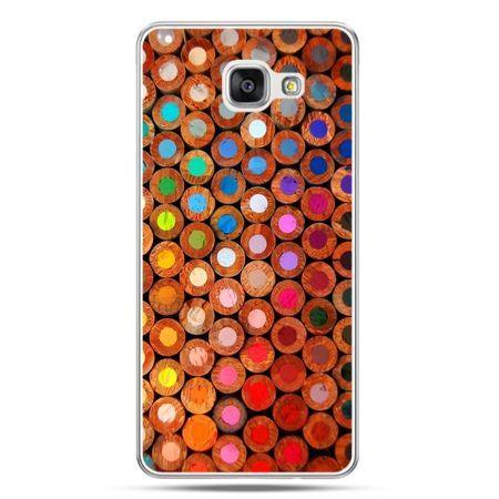 Galaxy A7 (2016) A710, etui na telefon kolorowe kredki