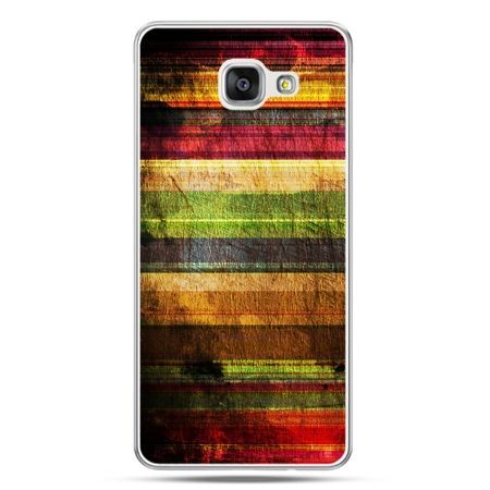 Galaxy A7 (2016) A710, etui na telefon kolorowe deski