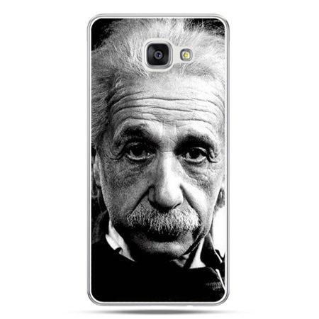 Galaxy A7 (2016) A710, etui na telefon Albert Einstein