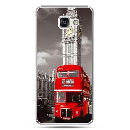 Galaxy A7 (2016) A710, etui na telefon czerwony autobus londyn