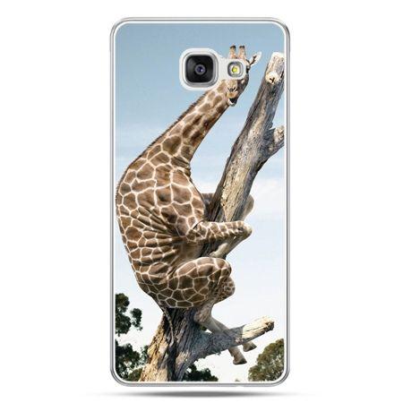 Galaxy A7 (2016) A710, etui na telefon śmieszna żyrafa