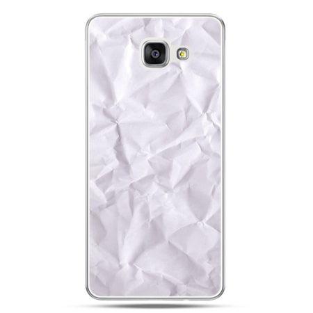 Galaxy A7 (2016) A710, etui na telefon pomięty papier