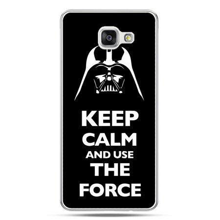 Galaxy A7 (2016) A710, etui na telefon Keep calm and use the force