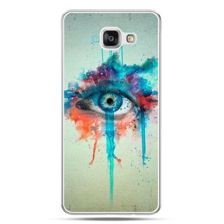 Galaxy A7 (2016) A710, etui na telefon oko
