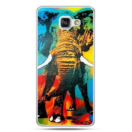 Galaxy A7 (2016) A710, etui na telefon kolorowy słoń