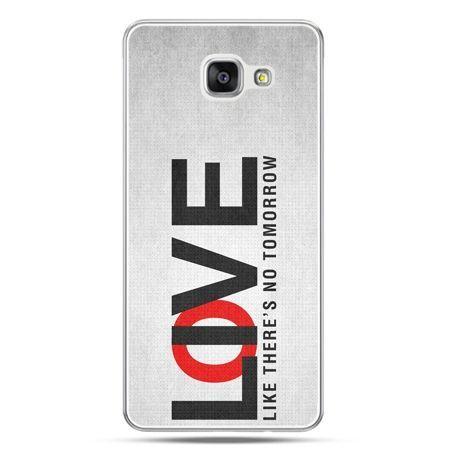 Galaxy A7 (2016) A710, etui na telefon LOVE LIVE