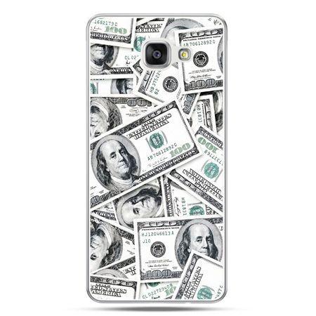 Galaxy A7 (2016) A710, etui na telefon dolary banknoty