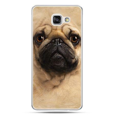 Galaxy A7 (2016) A710, etui na telefon pies szczeniak Face 3d