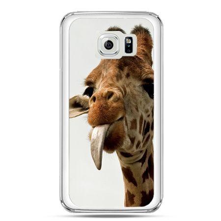 Etui na telefon Galaxy S7 żyrafa z językiem