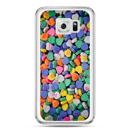 Etui na telefon Galaxy S7 slodkie serduszka