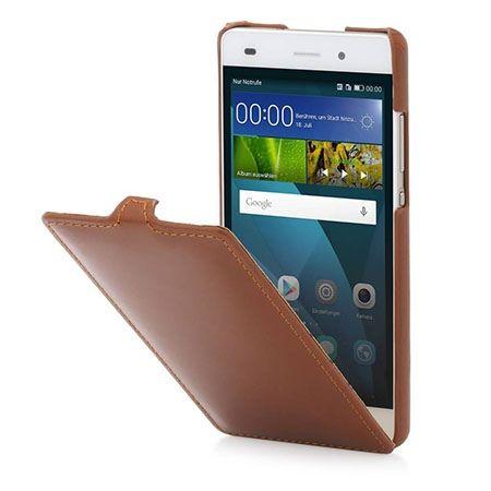 Pokrowiec Stilgut dla Huawei P8 Lite Ultraslim skórzany brązowy.
