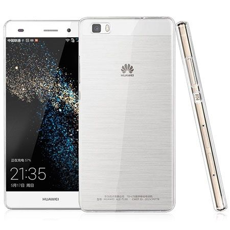 Huawei P8 Lite silikonowe etui przezroczyste crystal case.