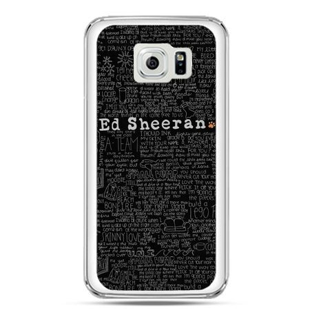 Etui na telefon Galaxy S7 ED Sheeran czarne poziome