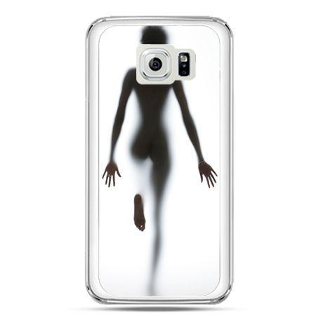 Etui na telefon Galaxy S7 kobieta za szybą