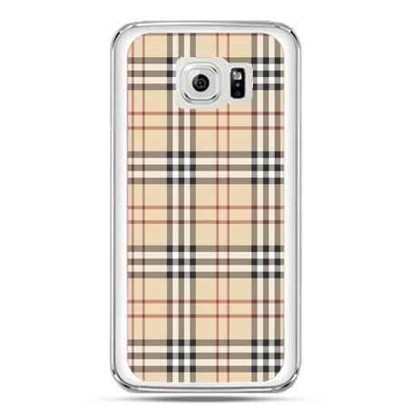 Etui na telefon Galaxy S7 kratka Burberry