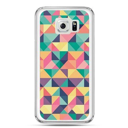 Etui na telefon Galaxy S7 kolorowe trójkąty