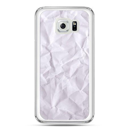 Etui na telefon Galaxy S7 pomięty papier