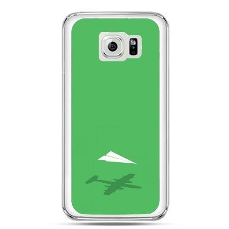 Etui na telefon Galaxy S7 samolot z papieru
