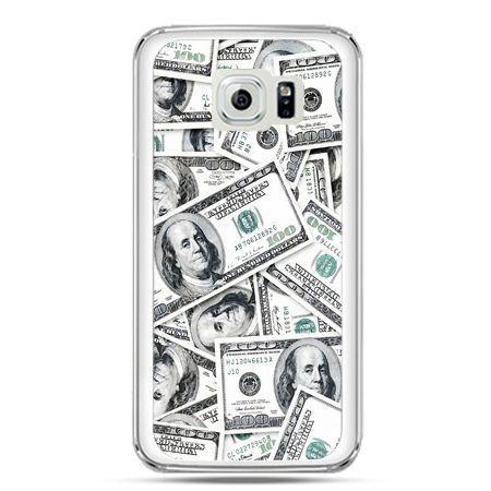 Etui na telefon Galaxy S7 dolary banknoty
