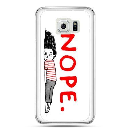 Etui na telefon Galaxy S7 Nope
