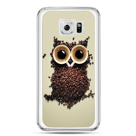 Etui na telefon Galaxy S7 Kawa sowa