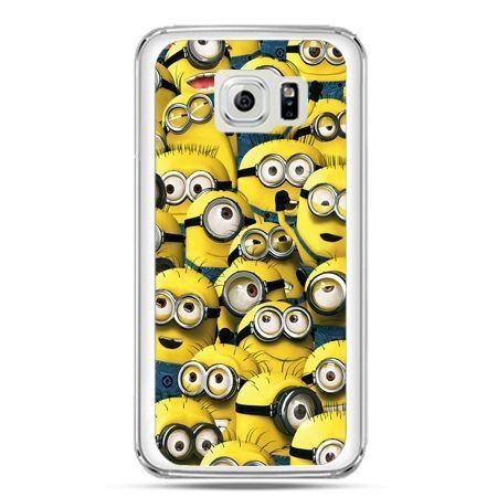 Etui na telefon Galaxy S7 Minionki grupa