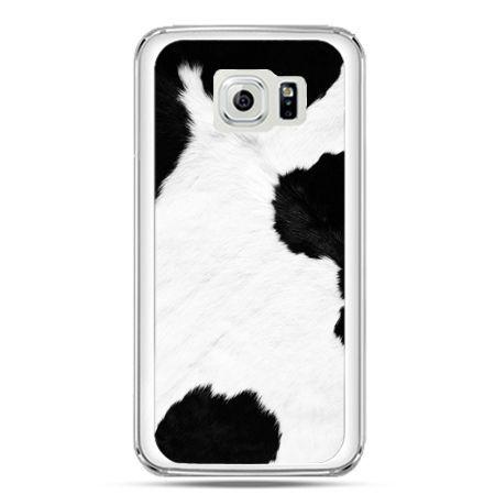 Etui na telefon Galaxy S7 łaciata krowa