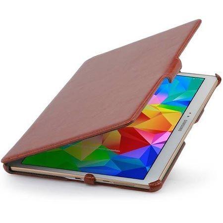Etui na tablet Galaxy Tab S 10.5 Stilgut UltraSlim z klapką brązowy.