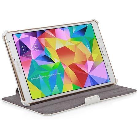 Etui na tablet Galaxy Tab S 8.4 Stilgut UltraSlim z klapką białe.