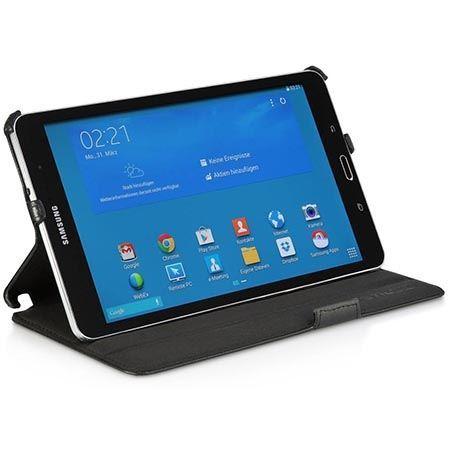 Etui na tablet Galaxy Pro 8.4 Stilgut UltraSlim z klapką czarne.