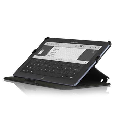 Etui na tablet Galaxy Ativ Smart PC500T Stilgut UltraSlim z klapką czarne.