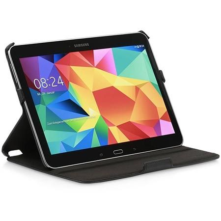 Etui na tablet Galaxy Tab 4 10.1 Stilgut UltraSlim z klapką czarne.