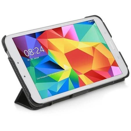 Etui na tablet Galaxy Tab 4 8.0 Stilgut UltraSlim z klapką czarne.