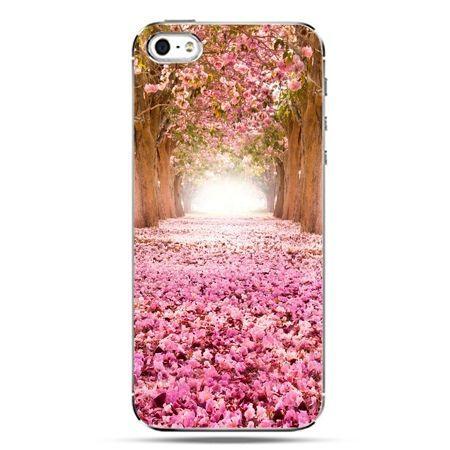 iPhone SE etui na telefon spacer po parku