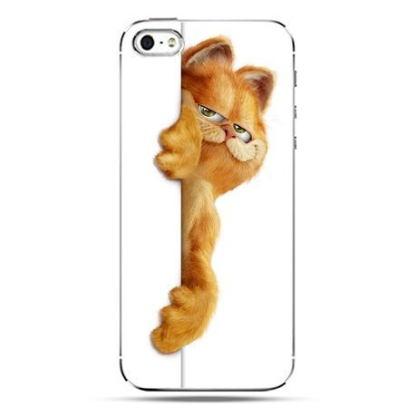 iPhone SE etui na telefon Kot Garfield