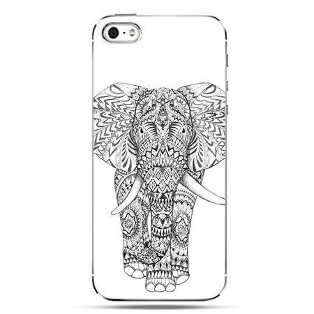 iPhone SE etui na telefon Indyjski słoń