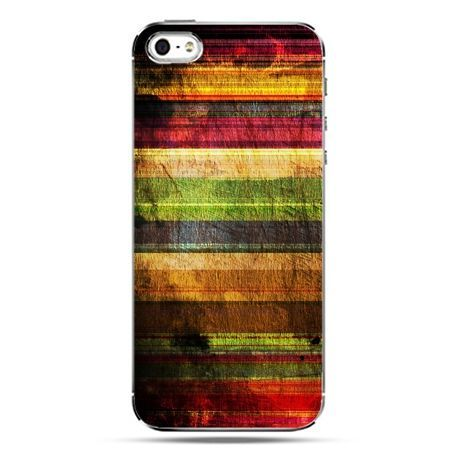 iPhone SE etui na telefon kolorowe deski