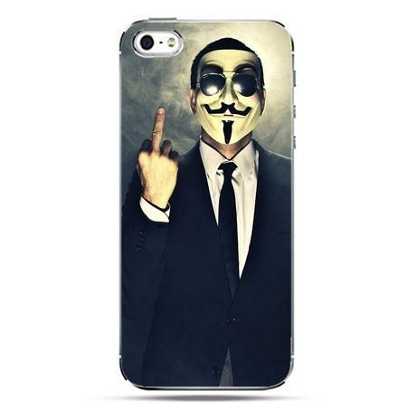 iPhone SE etui na telefon Anonimus Fuck You
