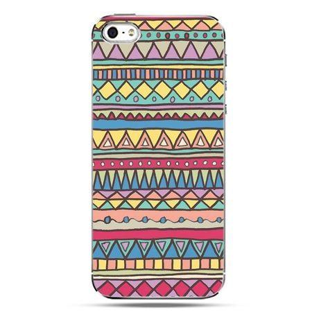 iPhone SE etui na telefon Azteckie wzory