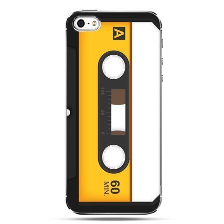 iPhone SE etui na telefon kaseta magnetofonowa