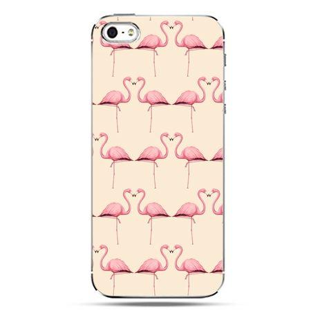 iPhone SE etui na telefon flamingi