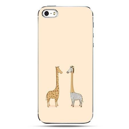 iPhone SE etui na telefon żyrafy