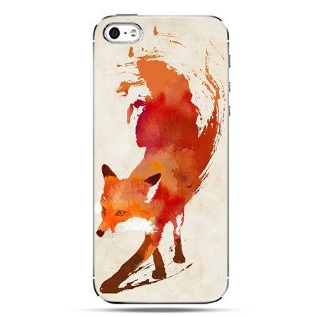 iPhone SE etui na telefon lis watercolor