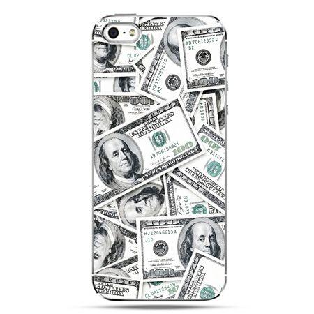 iPhone SE etui na telefon dolary banknoty