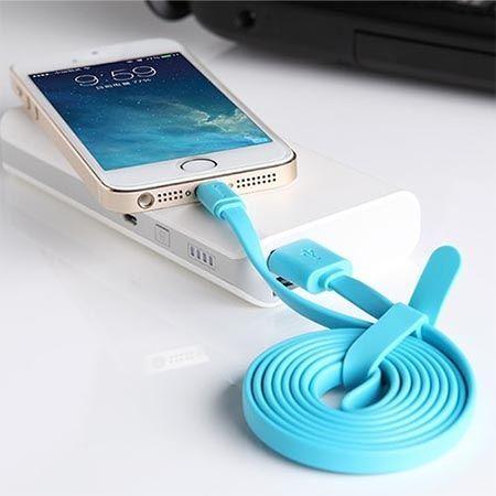 NILLKIN oryginalny kabel Micro USB Samsung 1.2m niebieski.