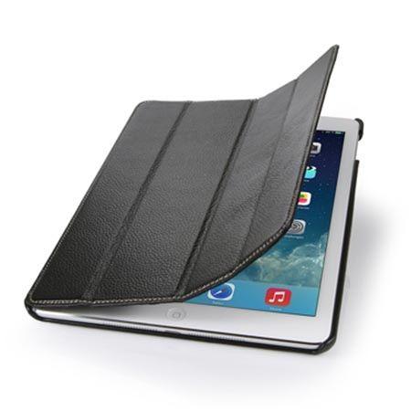 Etui na iPada Air 2 Stilgut Smart Cover skóra czarne.