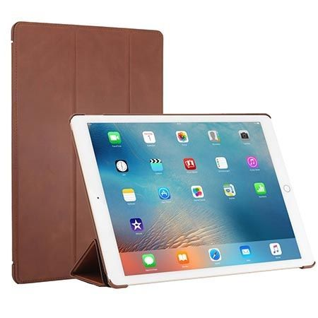 Etui na iPada Pro Stilgut Smart Cover skóra brązowe.