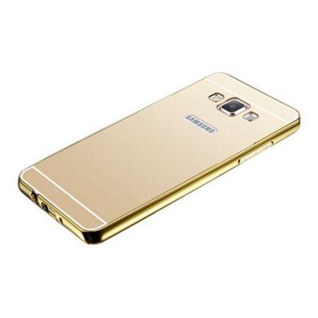 Mirror bumper case na Galaxy A5 - Złoty
